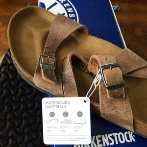 BNWT Men's Birkenstock Leather Sandel